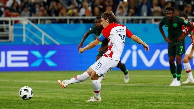 Luka Modric punya peran vital dalam skuat Vatreni.