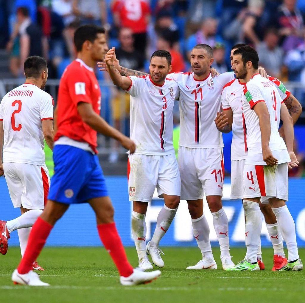 Setelah 20 Tahun, Serbia Akhiri Puasa Kemenangan di Laga Perdana Piala Dunia