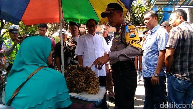 Kapolrestabes pantau lokasi wisata di Surabaya/