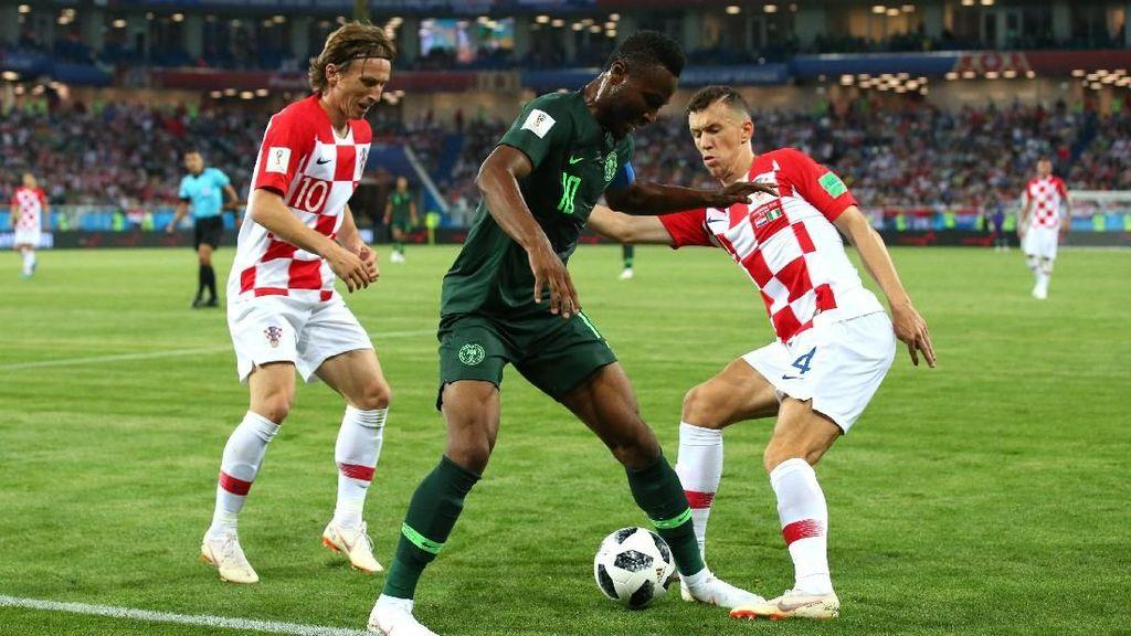 Hasil Pertandingan Piala Dunia 2018: Kroasia vs Nigeria Skor 2-0