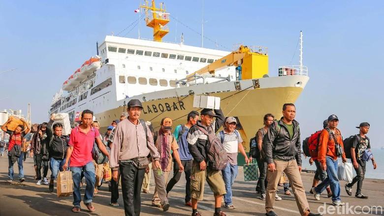 16.502 Pemudik Jalur Laut Diantar Pelindo III Hingga Kampung Halaman