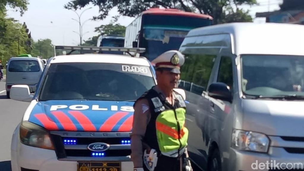 Hari Ketiga Lebaran, Jalur Surabaya-Malang Padat