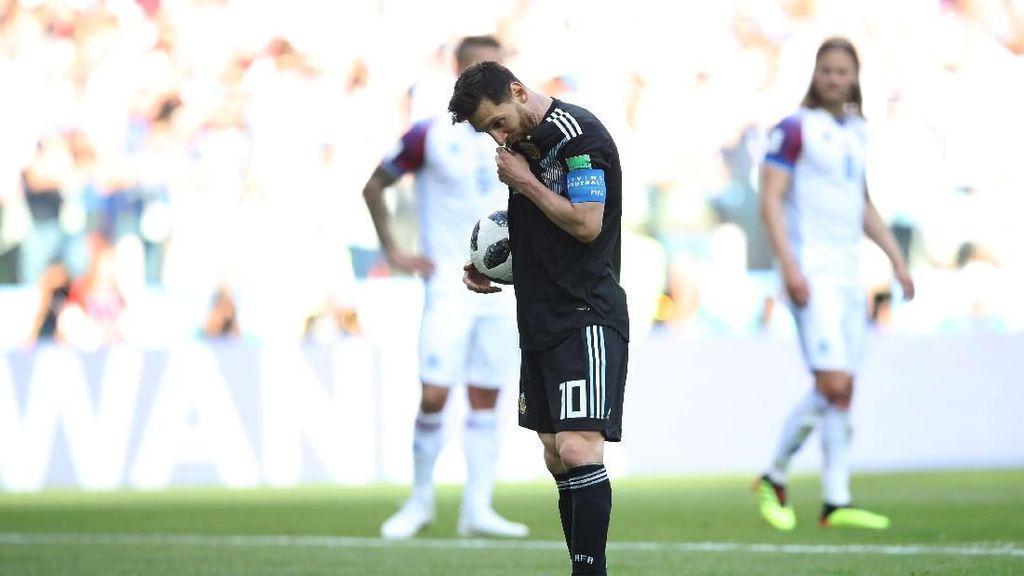 Messi Vs Islandia: 11 Tembakan, 3 On Target, 1 Gagal Penalti