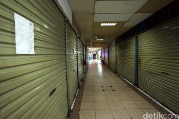 Pasar Elektronik Glodok Masih Sepi