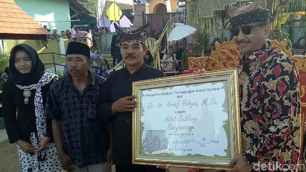 Ritual Magis Seblang Olehsari Banyuwangi Bikin Takjub Menpar