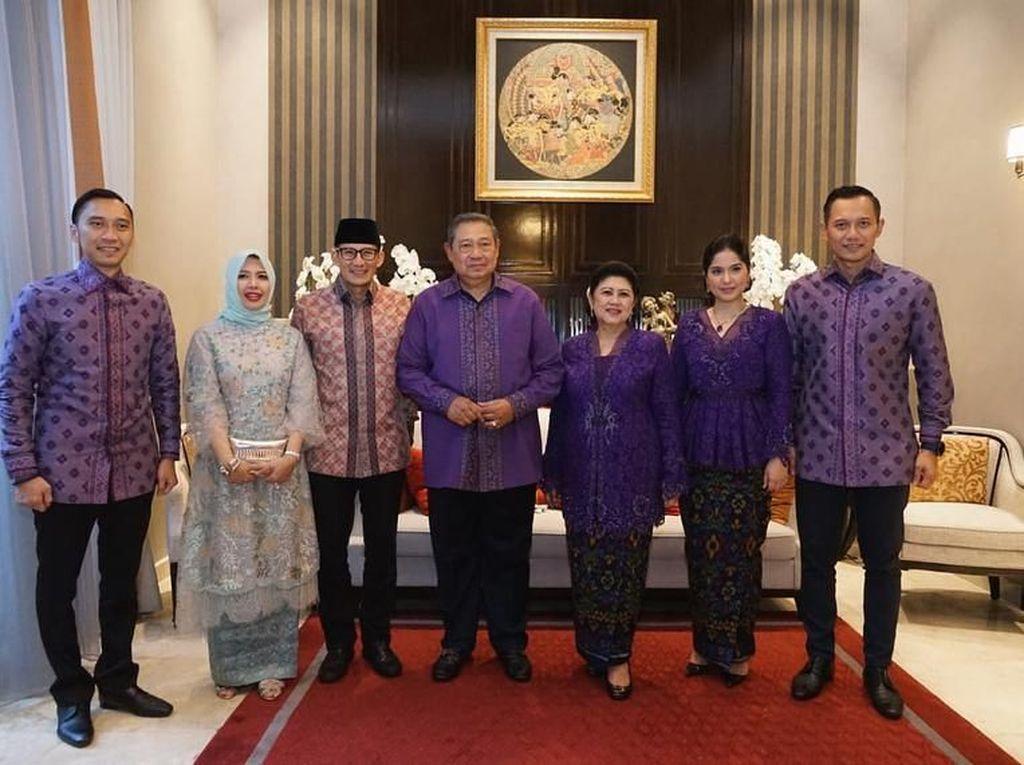 Demokrat Bantah SBY Titip Pesan Lewat AHY, Ini Kata Sandiaga