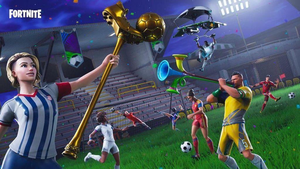 Fortnite Ikut Nebeng Semarak Piala Dunia