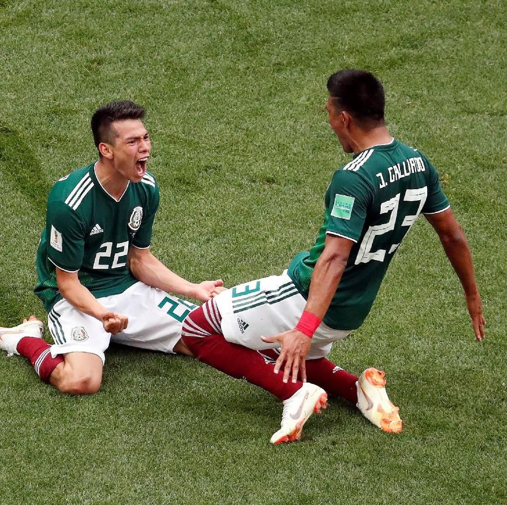 Taklukkan Jerman, Meksiko Bermain Tanpa Rasa Takut