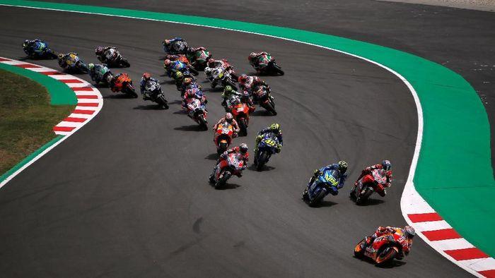 Usai MotoGP Catalunya 2018, Marc Marquez membahas persaingan saat ini (Foto: Jon Nazca/Reuters)