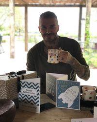 Rayakan <i>Father's Day</i>, David Beckham Dapat Hadiah Panggangan hingga Sarapan Spesial
