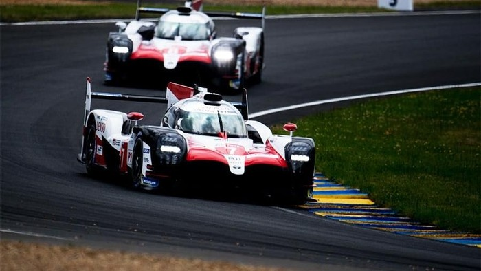 TOYOTA GAZOO  Racing.  Le Mans 24 Hours Race, 11th to 17th June 2018 Circuit de la Sarthe, Le Mans, France.