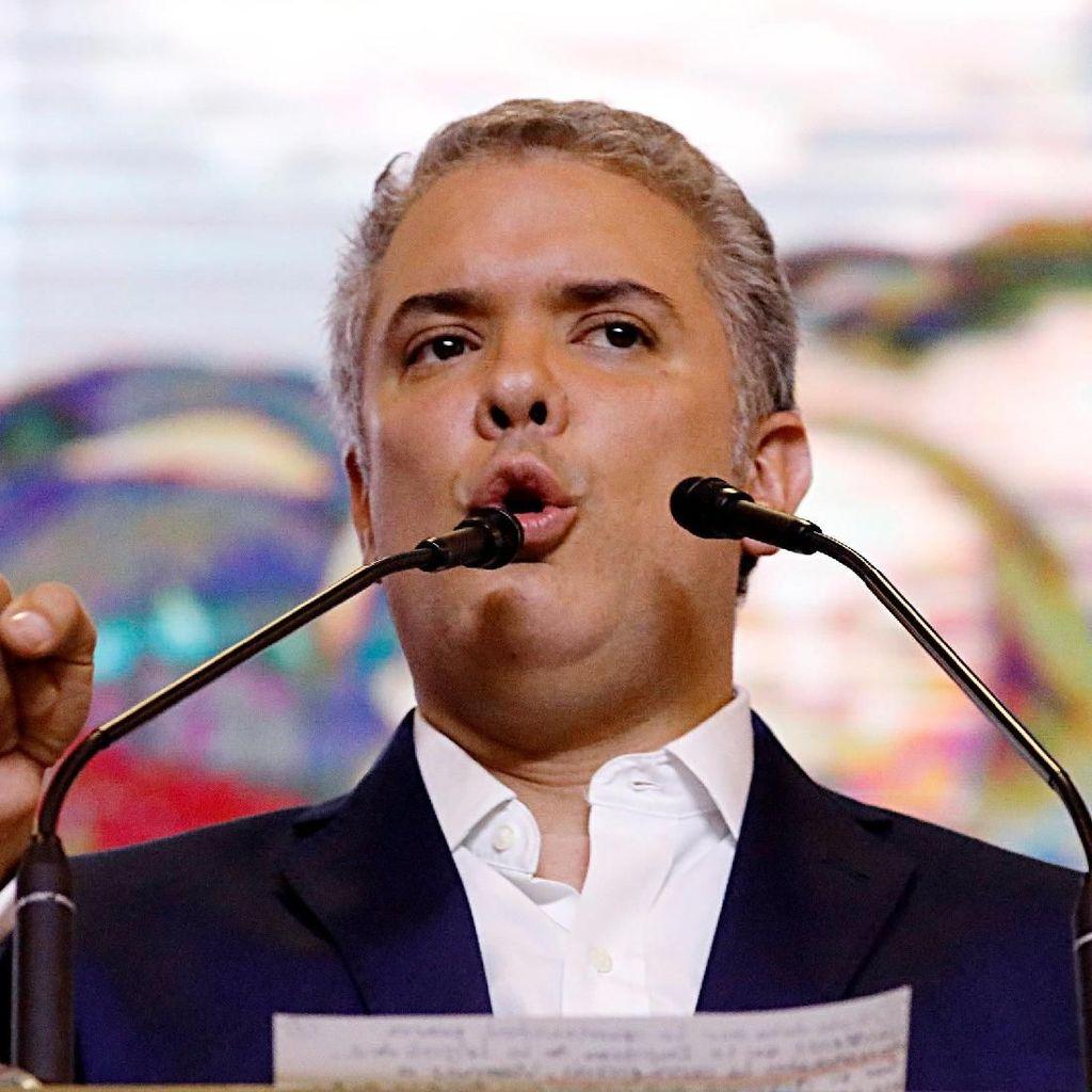 Foto: Ivan Duque Menangi Pilpres Kolombia 2018