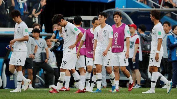 Timnas Korea Selatan dikalahkan Swedia 0-1 di laga pertama lewat tendangan penalti.