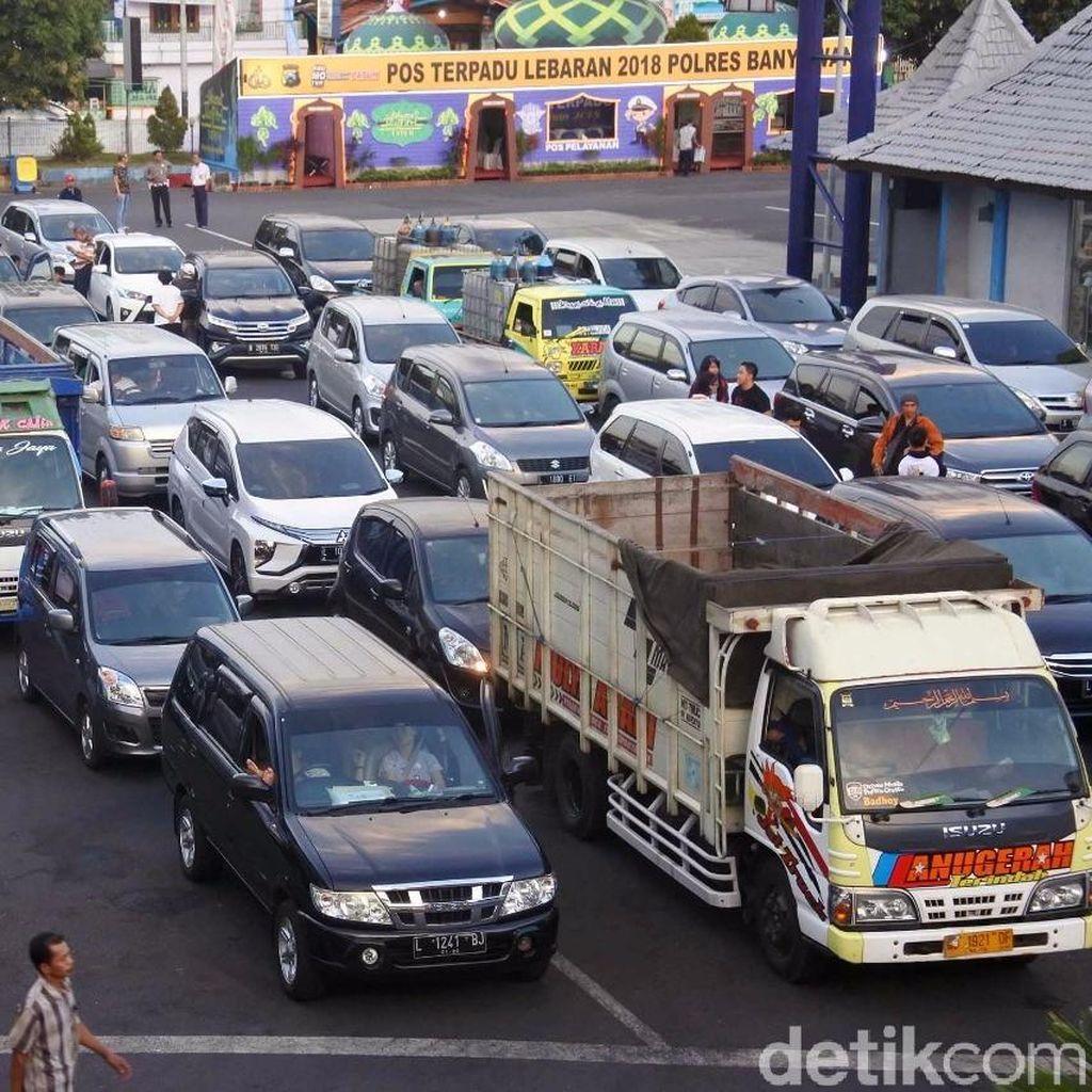 H+3, Penumpang Pelabuhan Ketapang Capao 74.968 Orang