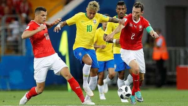 Brasil Ditahan Swiss 1-1