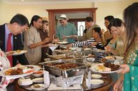 Acara halal bihalal WNI saat Idul Fitri di Ekuador