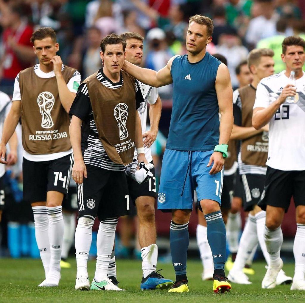 Rekor Jerman di Laga Pembuka Piala Dunia Dihentikan Meksiko