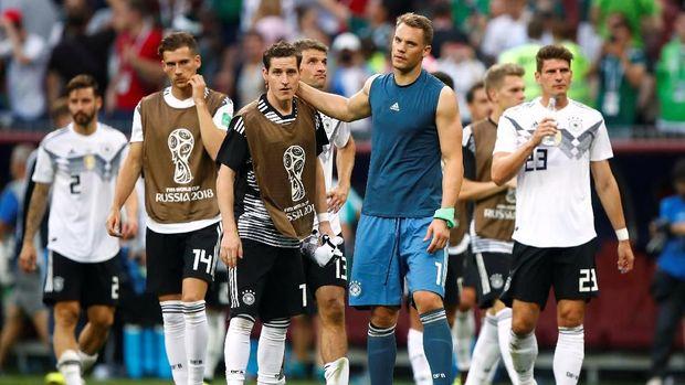 Timnas Jerman dalam posisi terjepit usai kalah di laga perdana.