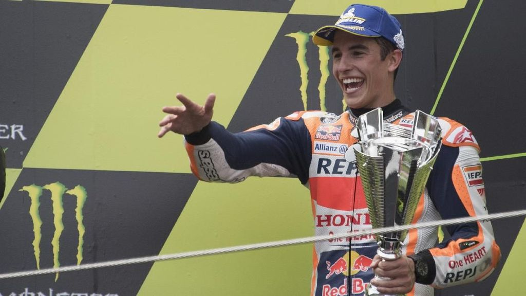 Tak Mau Crash, Marquez Prioritaskan Poin di MotoGP Catalunya