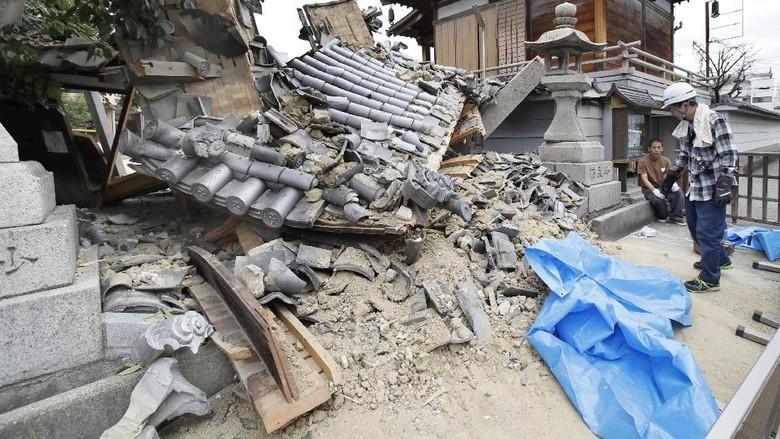 Ada Gempa 6,1 SR, Kemlu Imbau WNI di Osaka Tetap Tenang