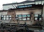 Diduga Korsleting Lab dan Ruang Kelas SMPN 3 Surakarta Terbakar