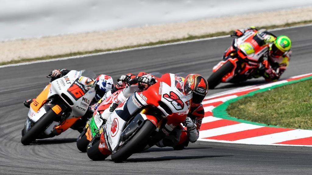 Tampil Lagi di Moto2, Dimas Ekky Penuhi Target