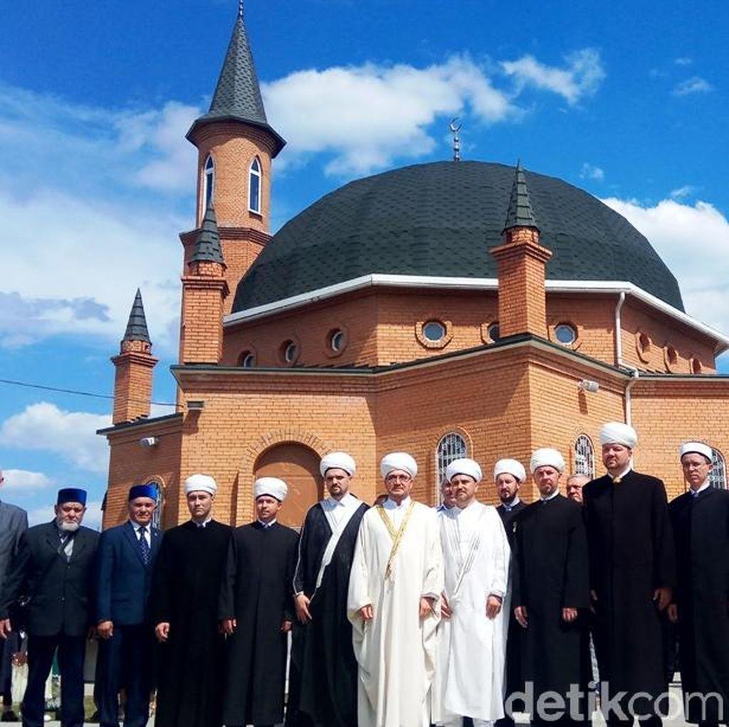 Lewat Masjid di Moskow, RI Harap Hubungan dengan Rusia Lebih Erat