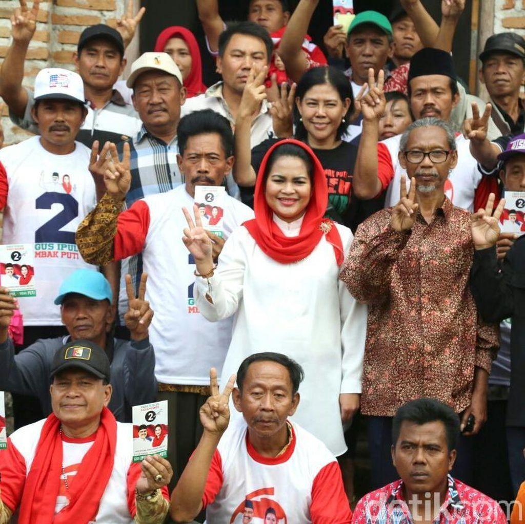 Selaras dengan Jokowi, Gus Ipul-Puti Dapat Dukungan Petani Hutan