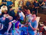Serunya Nobar World Cup di Transmart Cirebon, Ditemenin Shisha