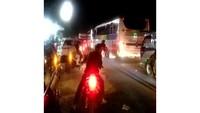 Arus Balik, Purwokerto Arah Bumiayu Macet