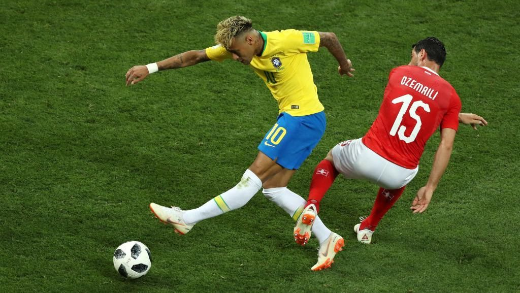 Strategi Swiss Saat Matikan Neymar Dapat Cibiran