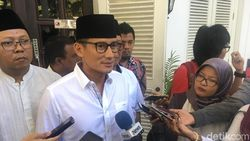 Sandiaga Bicara Political Game Pengumuman Cawapres Jokowi
