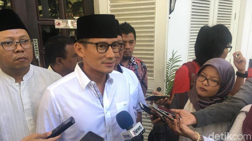 Sandi Jamin Lahan Makam untuk Warga DKI Masih Cukup hingga 2019