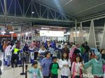 Stasiun Bogor Dipenuhi Penumpang Arah Jakarta