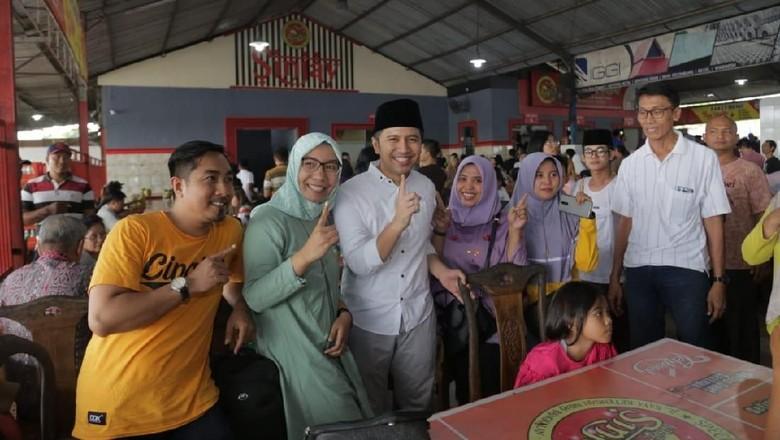 Di Bangkalan, Emil Dardak Paling Diidolakan Pemilih Pemula