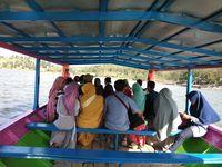 Di sini juga bisa mengelilingi waduk dengan kapal (Muhammad Idris/detikTravel)