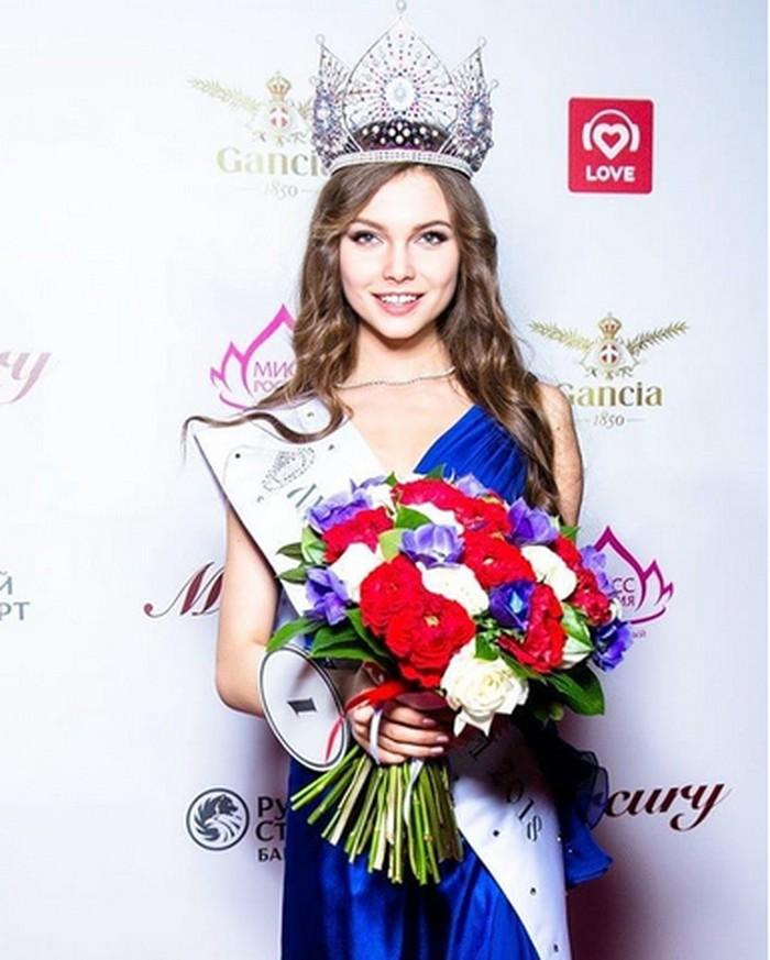 April lalu, gadis cantik berusia 18 tahun ini sukses menyabet gelar sebagai Miss Russia 2018. (Foto: Instagram/polyachihinayulia)