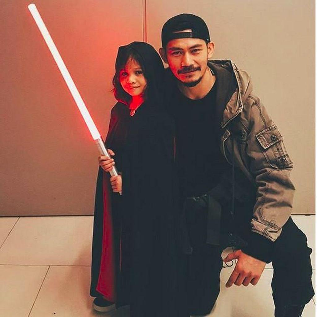 Jadi Aktor Laga, Donny Alamsyah Kerap Ajarkan Putri Beladiri