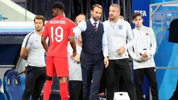 Gareth Southgate mampu mengeluarkan kemampuan terbaik para pemain timnas Inggris.