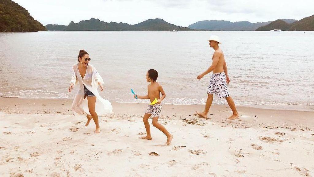 Short Getaway Bunga Citra Lestari dan Keluarga di Pulau Langkawi