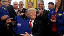 Trump Siapkan Pasukan Khusus untuk Dominasi Luar Angkasa