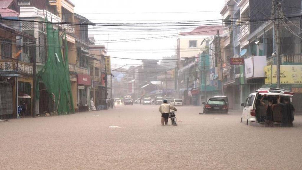 Banjir Landa 10 Wilayah di Myanmar, 11 Orang Tewas