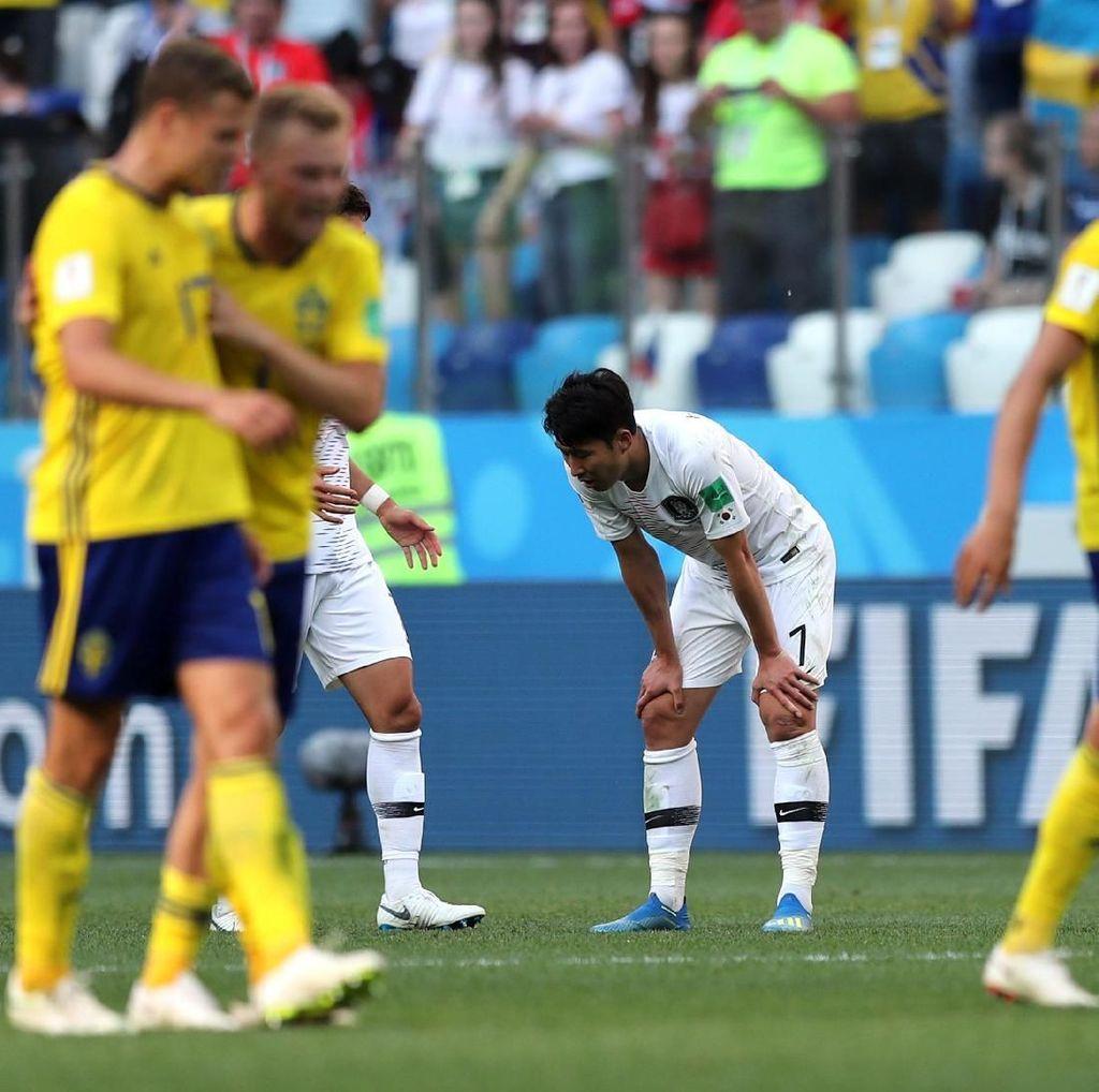Swedia Kalahkan Korea Selatan 1-0, Ini Data dan Faktanya