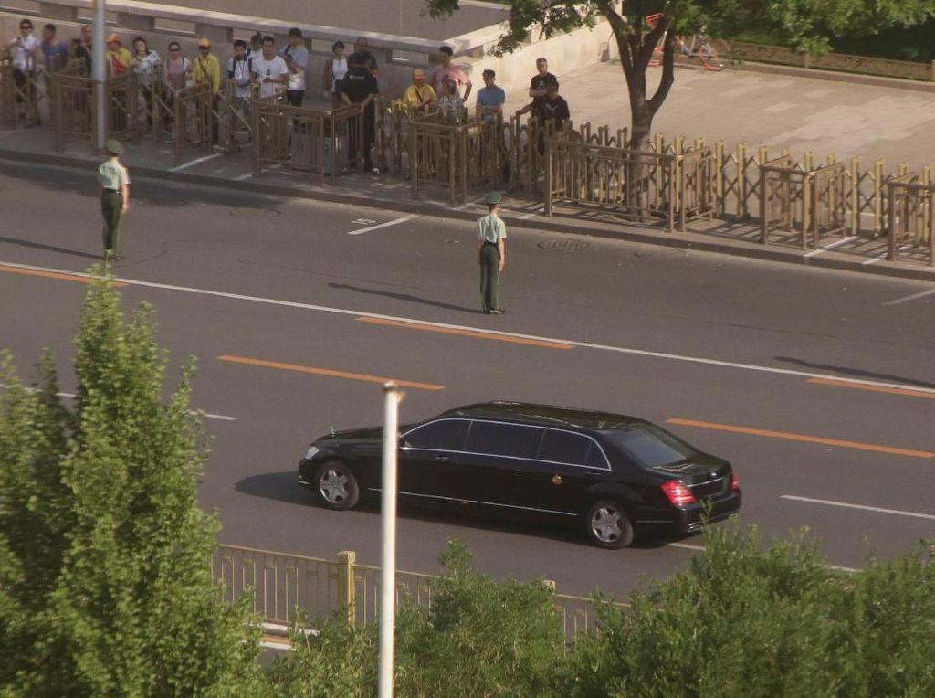 Foto: Ini Mobil dan Iring-iringan Kim Jong Un di China
