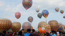 Dirjen Udara: Penerbangan Balon Udara di Luar Festival akan Ditindak