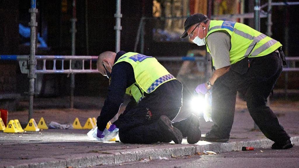 Penembakan di Malmo Swedia, 5 Orang Terluka
