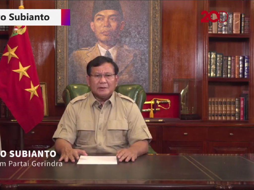Prabowo Sebut Sistem di RI Menyimpang hingga TNI Lemah