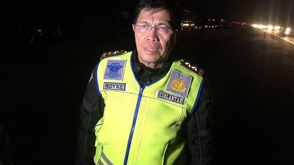 Polisi Berlakukan One Way di Tol Cipali Arah Jakarta