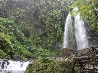 Foto: Air Terjun Antimainstream Buat Traveler di Solo