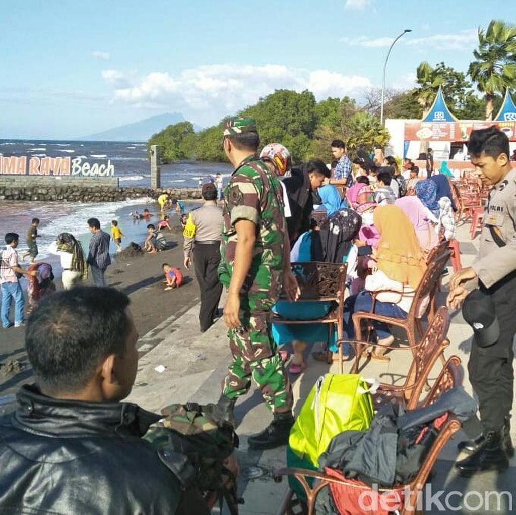 Obyek Wisata di Situbondo Mulai Padat, Polisi Gencar Patroli